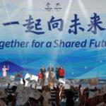 Il lancio del motto che seguirà l'edizione delle Olimpiadi e Paralimpiadi invernali di Pechino 2022